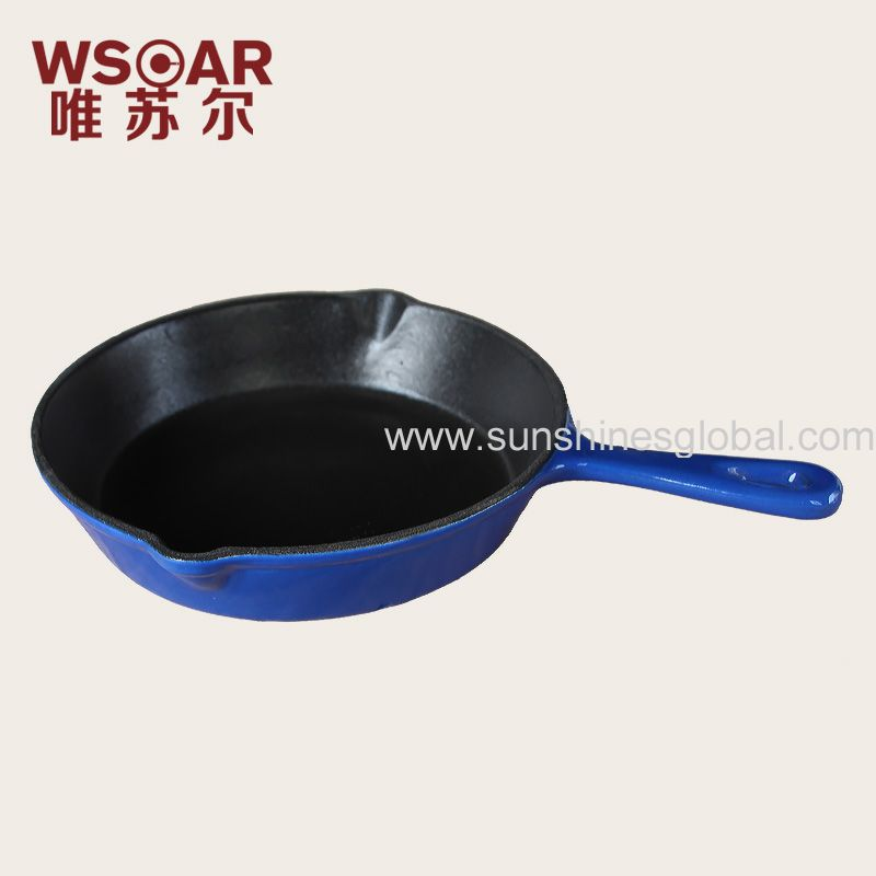enameled  fry pan